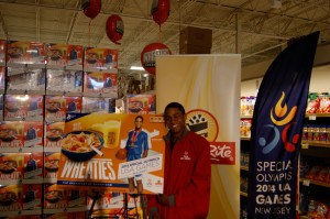 Commemorative Box Features Special Olympics New Jersey Basketball Player Michael Reed