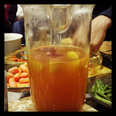 Homemade Mulled Apple Cider