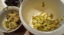 eggplant innards